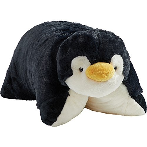 "Pillow Pets Originals Stuffed Animal Plush Toy 18"", Playful Penguin"
