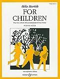 Bela Bartòk for Children, Volume 1 Piano