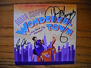 Signed CD from Wonderful Town the 2003 Broadway Revival Cast. Autographed by Donna Murphy , Gregg Edelman , Michael McGrat...