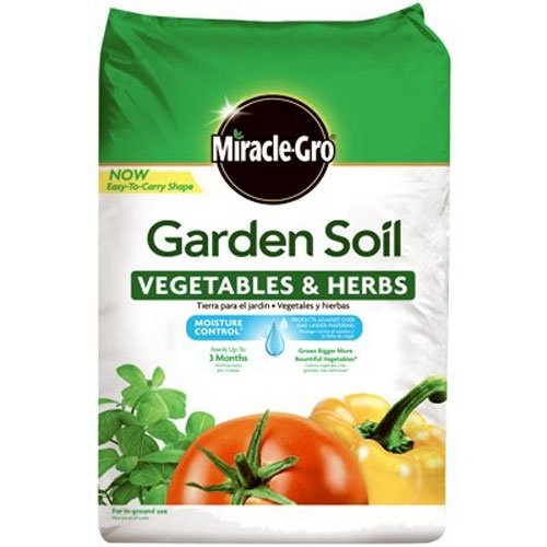 Miracle-Gro Garden Soil Vegetables and Herbs 1.5 cu ft