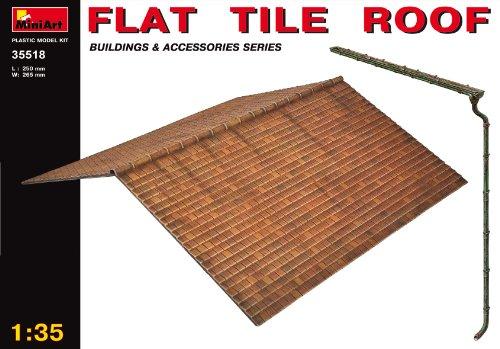 MiniArt 35518 - Flache Dachplatte