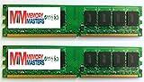 MemoryMasters 4GB (2 x 2GB) DDR2 DIMM (240 PIN) AM2 667Mhz PC2 5400 / PC2 5300 for Foxconn Destroyer 4 GB