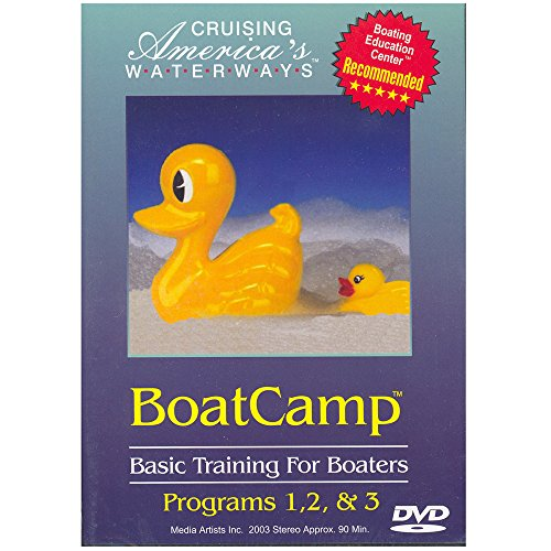 Cruising America's Waterways: BoatCamp: Basic Training for Boaters -  DVD, Marquisee, Ronald S., Roberts, Nancy