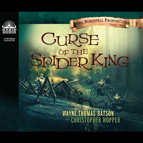 Curse of the Spider King audiobook cover art