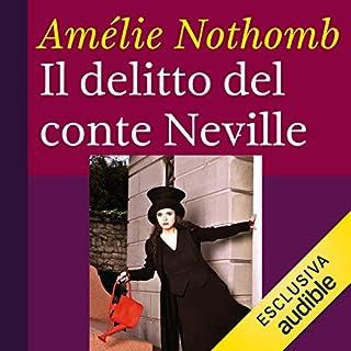 Il delitto del conte Neville copertina