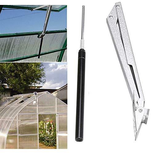 Automatischer Fensteröffner für Gewächshäuser, mit Doppelfeder, automatischer Entlüftungsöffner.