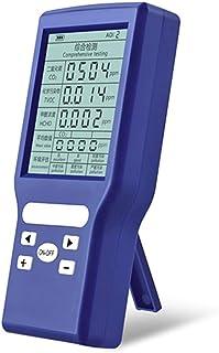 mewmewcat Multifuncional Air Dector Co2 Formaldeído HCHO TVOC Medidor de qualidade do ar interno ppm Medidor LCD LCD de al...