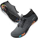 SIMARI Water Shoes Mens Womens Sports Quick Dry Barefoot Diving Swim Surf Aqua Walking Beach Yoga 219 Grey