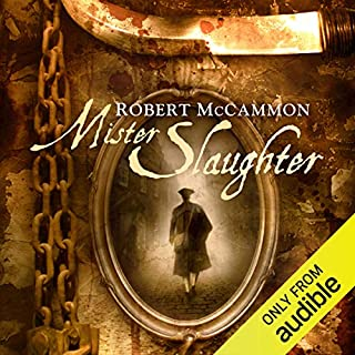 Mister Slaughter audiobook cover art