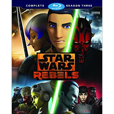 Star Wars Rebels: The Complete Season Three [Blu-ray]