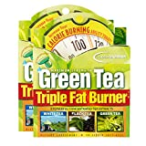 Applied Nutrition Green Tea Triple Fat Burner, 30 Liquid Soft-Gels (Pack of 2)