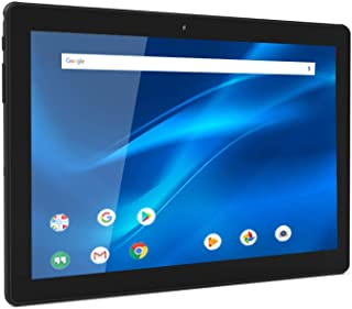 "10.1"" Android Tablet, Quad-Core Processor, 1.3GHz, 32GB Storage, Black, DL1016"