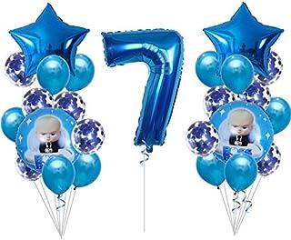 ZINNI-Ballons & Accessories - 25pcs boss baby Aluminum Balloon, cartoon popular Aluminum Balloons, kids birthday Party Sup...