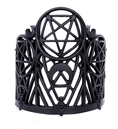 Restyle Dark Dreams Armreif Wicked Pentagramm Mond Armband Gothic Bangle Spange Witchy Pagan