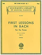 First Lessons in Bach - Book 2: Piano Solo