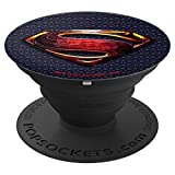Justice League Movie Superman Logo PopSockets Grip and Stand for Phones and Tablets