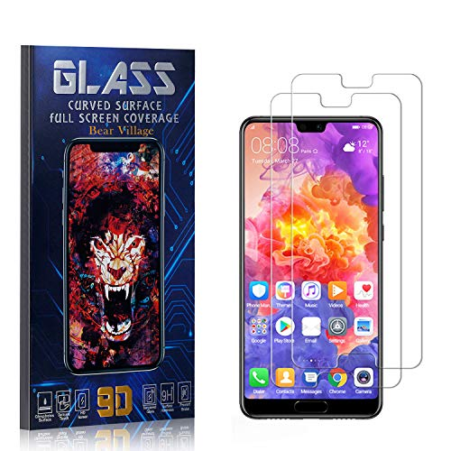 %56 OFF! Bear Village Screen Protector for Huawei P20 Pro, Scratch Resistant Ultra Clear Tempered Gl...