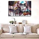 jiushice Pas de Cadre Le Monde en Toile Affiches Affiches Mur Art ng Image Décorative Chambre à Coucher Moderne Décoration...