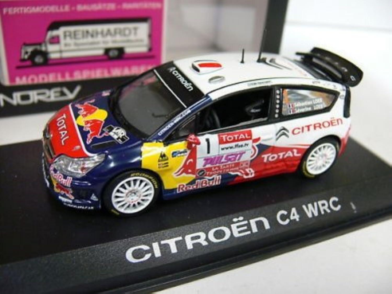 1 43 Norev Citroen C4 WRC Rallye 2010 S.Loeb D.Elena  1 155436 B00HF9UYV4 Hohe Qualität und geringer Aufwand  | Vielfalt