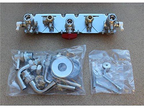 Junkers Montage-Anschlussplatte UP komplett, 7719002373, für ZSN/ZWN//ZWR/ZSR