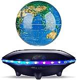 KANJJ-YU Altavoz magnético de suspensión mini globo inalámbrico rotación Bluetooth audio una buena opción para decoración de escritorio y regalos