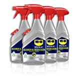 WD-40 Specialist Cleaner & Degreaser, 24 OZ [Non-Aerosol Trigger] [4-Pack]