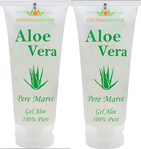 Natura Canaria Aloe Vera Gel 100% Tube 100ml x 2 Stück