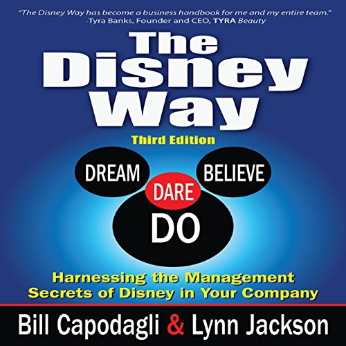 The Disney Way audiobook cover art