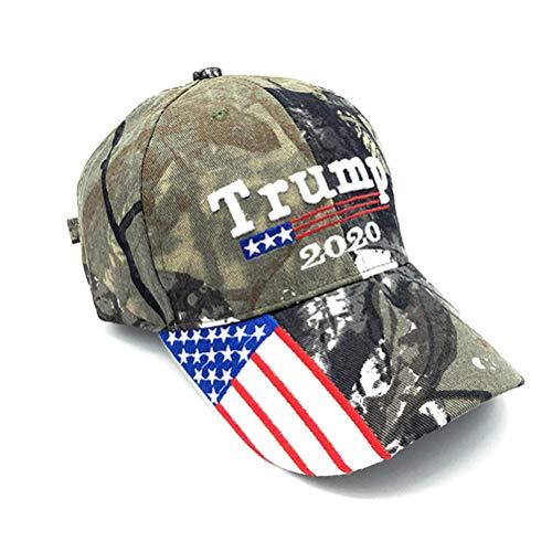 2020 Donald Trump Baseball Cap Unisex Campaign Cap - Donald Trump Sun Visor Hats Outdoor Baseballmütze Sportmütze verstellbare Mütze