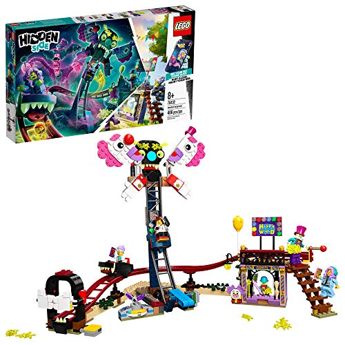 LEGO Hidden Side Haunted Fairground Ghost-Hunting Set Now $34.97
