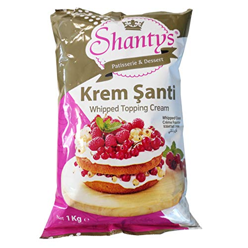 Creme Santi Mix - 1 Kg - Kaltcremepulver (Kremsanti - Sahnealternative) Shantys Patisserie & Dessert