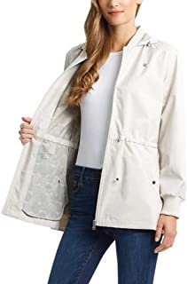 Bernardo Women's Anorak with Ruffle Back
