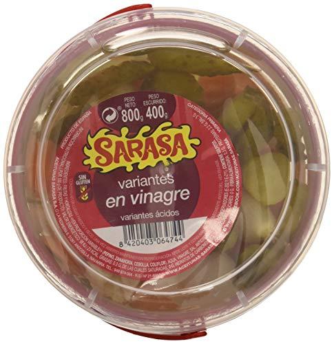 Variante de pepino (encurtido especial en vinagre), Paquete de 6 x 800gr - Total: 4800 gr
