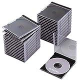 エレコム CD/DVDプラケース/1枚収納/30パック/ブラック