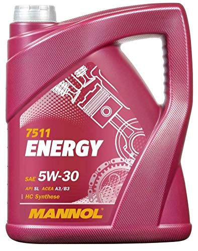 RS Mannol Energy 5W30 A3/B3 Fully Synthetic Engine Oil, WSS-M2C913-B, 5...