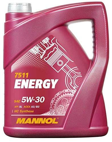 RS Mannol Energy WSS-M2C913-B - Aceite de motor totalmente sintético, 5W30 A3/B3, 5 litros
