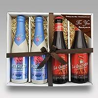 【即日発送】ベルギービール 2種4本(デリリュウム トレメンス×2・ギロチン×2)セット[飲み比べセット] (通常ギフト)