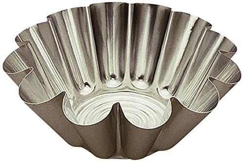 Gobel 623140 Moule à Brioche Grosses Côtes Aluminium Ø 20 cm