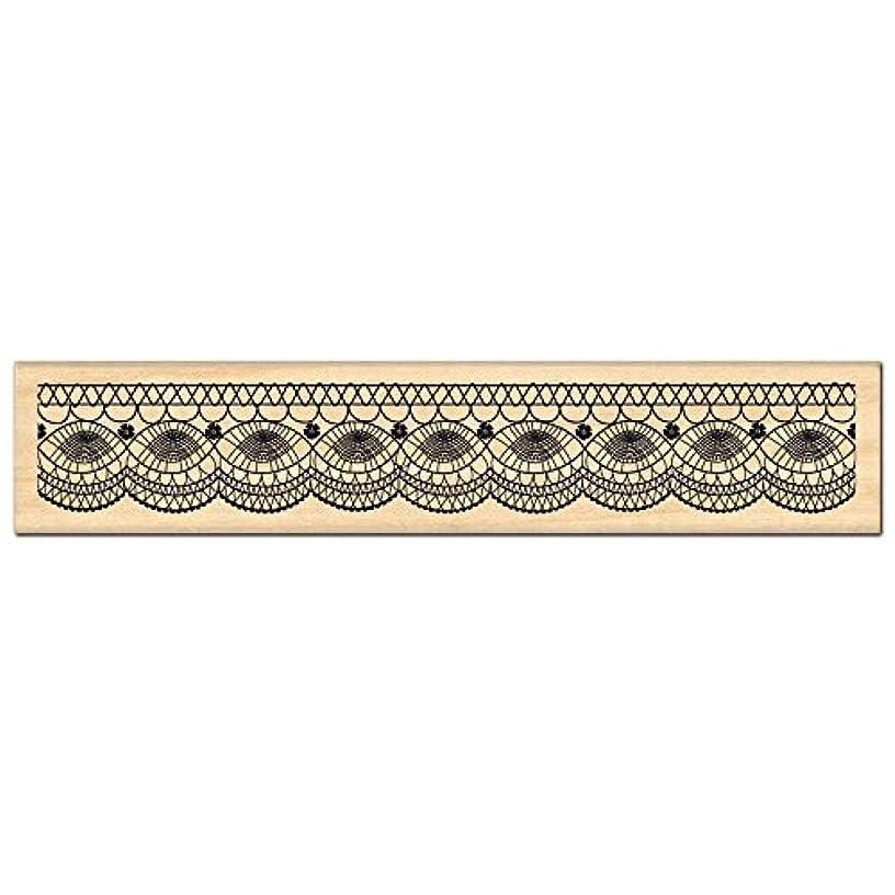 Florilèges Design FE211011 Scrapbooking Stamps – Fine Lace – Beige – 3 x 15 x 2.5 cm