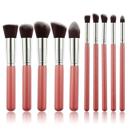 Domybest 15 couleurs Contour Palette de maquillage crème 10 pcs Brosse