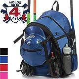 Athletico Advantage Baseball Bag - Baseball Backpack with External Helmet Holder for Baseball, T-Ball &...