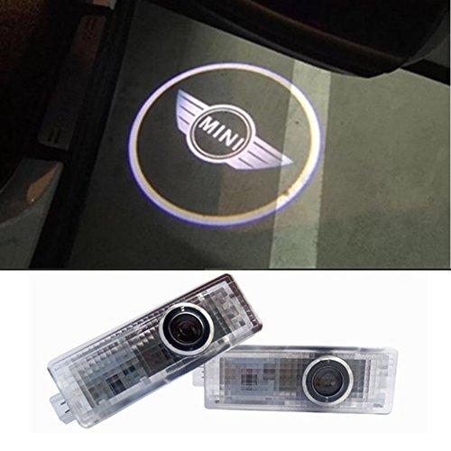 Inlink 2Stück Autotür Logo Einstiegsbeleuchtung Projektion Licht Logo Türbeleuchtung