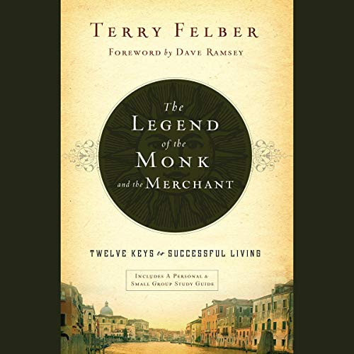 The Legend of the Monk and the Merchant audiobook cover art