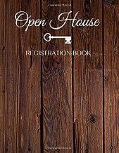Open House Registration Book: Visitor Registration Book . Real Estate Agent Guest & Visitors Signatures Sign In Sheet Regi...