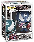 Funko POP Marvel Venom - Venom Captain America