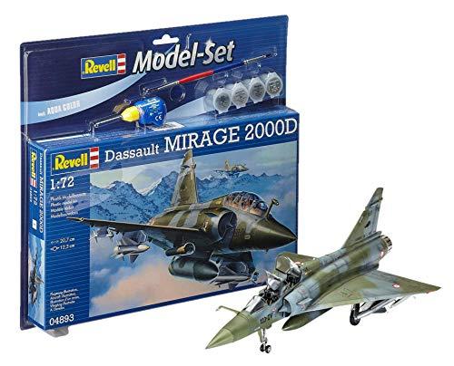 Revell - 64893 - Maquette Model Set - Dassault Aviation Mirage 2000 D - Echelle 1/72