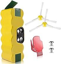 Morpilot Vervangende Batterij voor iRobot Roomba, 4050 mAh Ni-MH Batterij Compatibel met iRobot Roomba 500 600 700 800 900...