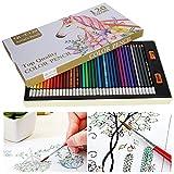 Lápices de colores de núcleo suave, lápices de colores no fáciles de desvanecer, juego de lápices de colores de núcleo suave Hex diseñado para adultos que dibujan niños