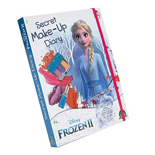 Disney Die Eiskönigin 2 70000631 Make up Tagebuch Kinderschminke, Mehrfarbig