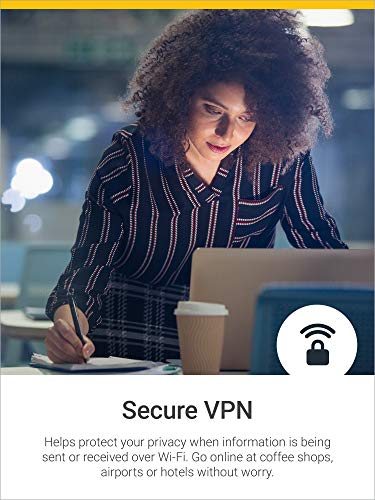 Norton 360 Deluxe – Antivirus software for 5 Devices with Auto Renewal - Includes VPN, PC Cloud Backup